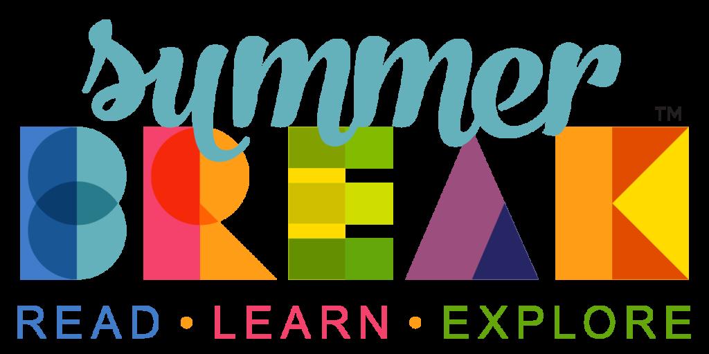 Summer Break Logo Charlotte Mecklenburglibrary